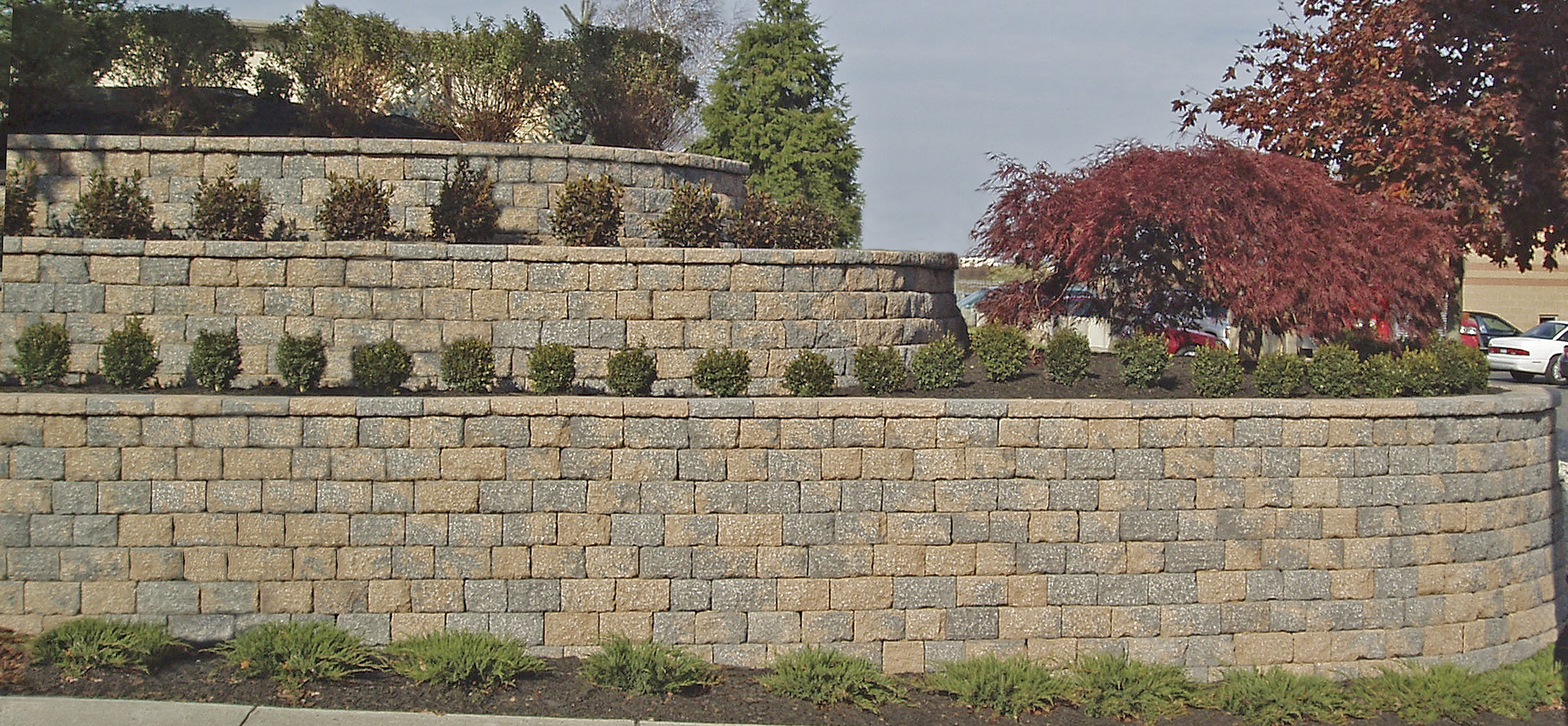Stackable Retaining Wall Block