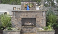 Fireplace-MaytRx Wall Stone