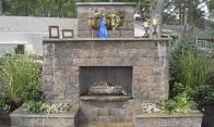 Fireplace-MaytRx Wall Stone