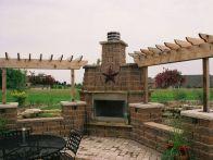 Fireplace-Keystone Country Manor