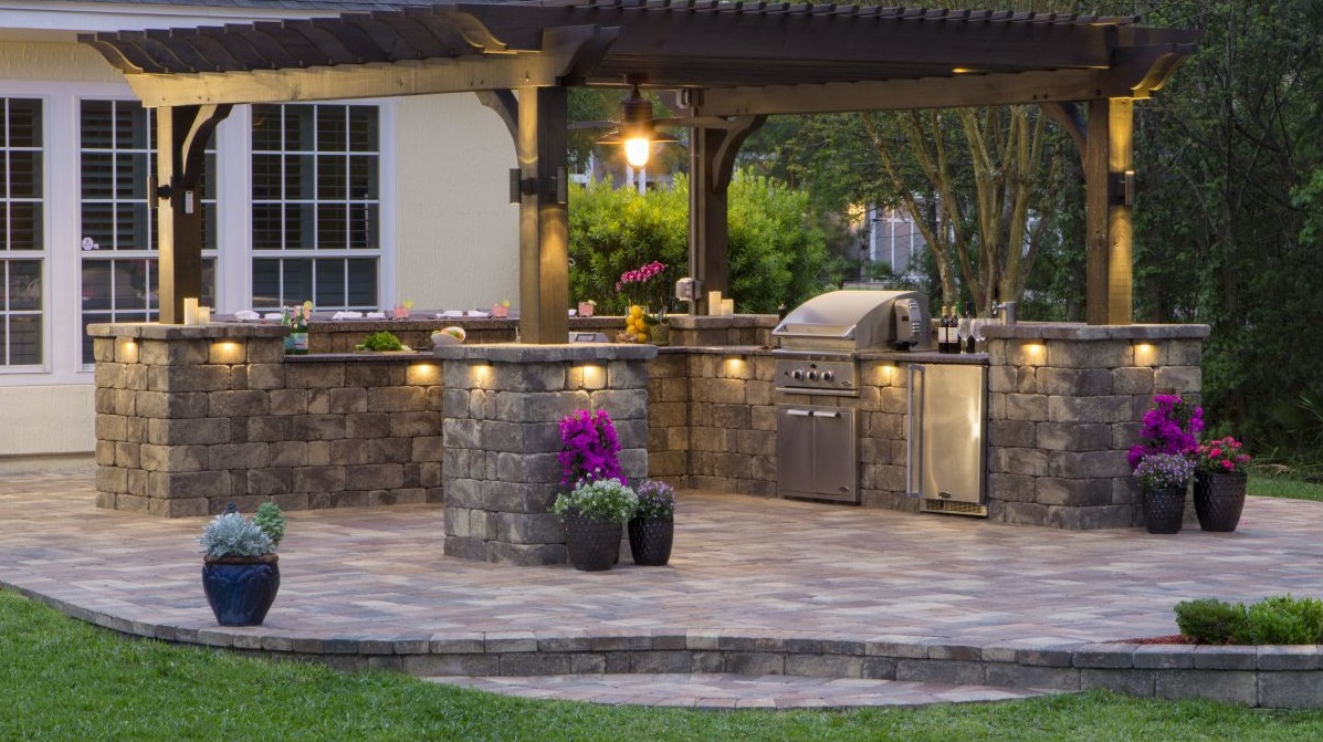 Outdoor Kitchen Keystone Stonegate Country Manor